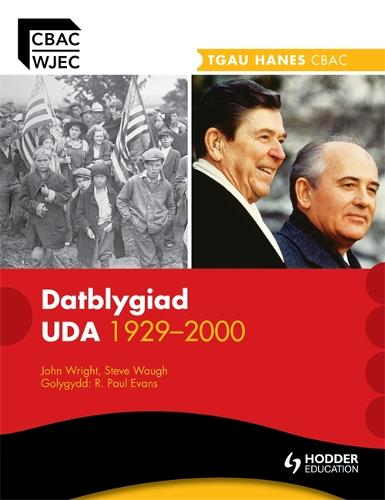 WJEC GCSE History: The Development of the USA 1929-2000 Welsh Edition - WJHI (Paperback)