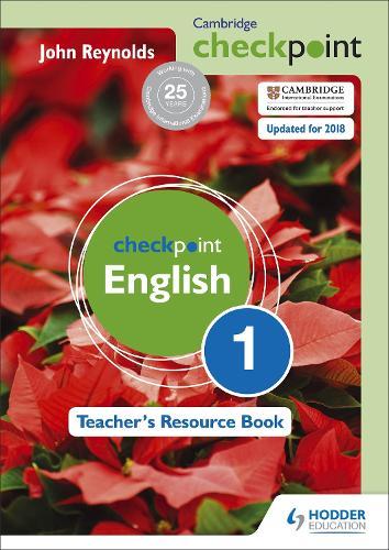 Cambridge Checkpoint English Teacher's Resource Book 1 (Spiral bound)