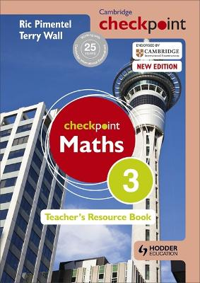 Cambridge Checkpoint Maths Teacher's Resource Book 3 (Paperback)