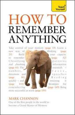 How to Remember Anything: Teach Yourself (Paperback)
