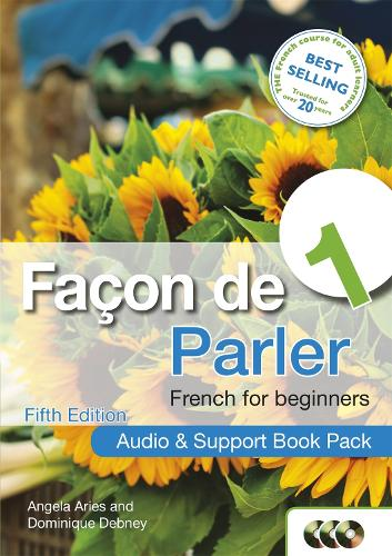 Facon de Parler 1 French for Beginners 5ED: Audio and Support Book Pack (CD-Audio)