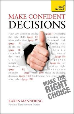 Make Confident Decisions: Teach Yourself (Paperback)