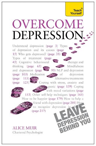 Overcome Depression: Teach Yourself (Paperback)