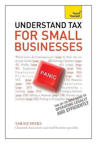 Understand Tax for Small Businesses: Teach Yourself (Paperback)