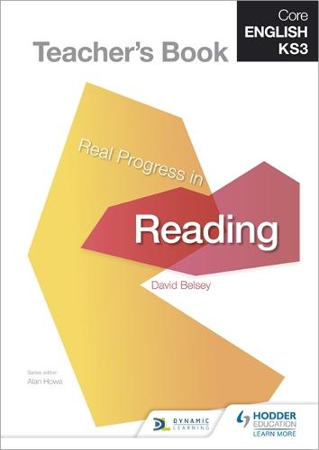 Core English KS3 Real Progress in Reading Teacher's Book (Spiral bound)