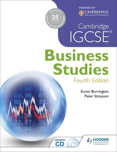 Cambridge IGCSE Business Studies 4th edition (Paperback)