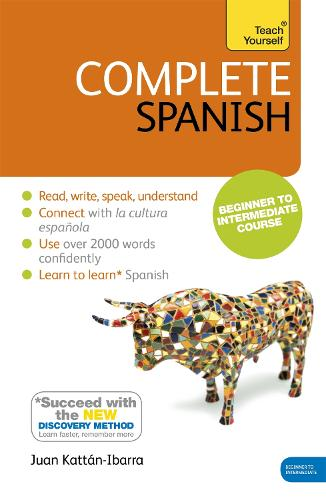 Complete Spanish (Learn Spanish with Teach Yourself): Book: New edition (Paperback)