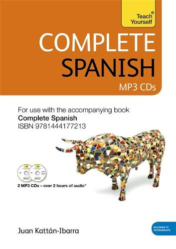 Complete Spanish (Learn Spanish with Teach Yourself): Audio Support: New edition (CD-Audio)