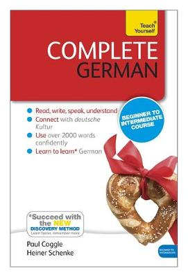 Complete German (Learn German with Teach Yourself): Book: New edition (Paperback)