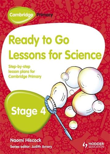 Cambridge Primary Ready to Go Lessons for Science Stage 4 (Paperback)