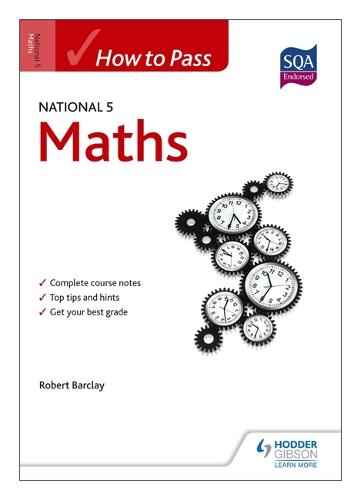 How to Pass National 5 Maths - HTP5 (Paperback)