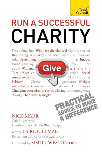 Run a Successful Charity: Teach Yourself (Paperback)