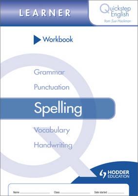 Quickstep English Workbook Spelling Learner Stage (Paperback)
