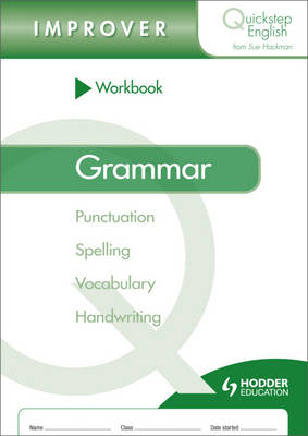 Quickstep English Workbook Grammar Improver Stage (Paperback)