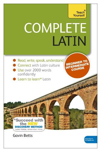 Complete Latin Beginner to Intermediate Book and Audio Course: Book only: New edition (Paperback)