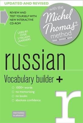 Russian Vocabulary Builder+ (Learn Russian with the Michel Thomas Method) (CD-Audio)