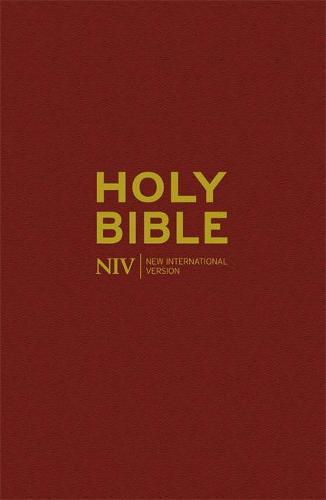 NIV Popular Burgundy Hardback Bible 20 copy pack - New International Version