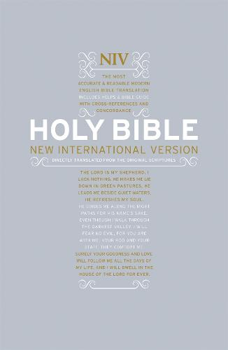 NIV Popular Hardback Bible with Cross-References - New International Version (Hardback)