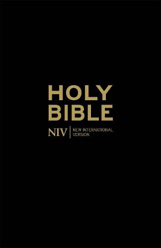NIV Holy Bible - Anglicised Black Gift and Award - New International Version (Paperback)