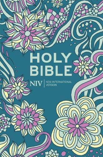 NIV Pocket Floral Hardback Bible - New International Version (Hardback)