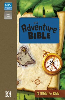 NIV Adventure Bible Blue Soft-Tone Bible (Paperback)