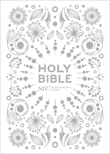 NIV Pocket White Gift Bible - New International Version (Hardback)