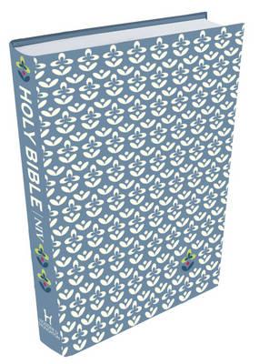 NIV Thinline Blue Patterned Cloth Bible: 1 (Hardback)