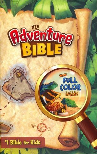 NIV Adventure Bible Hardback - New International Version (Hardback)
