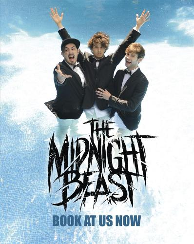 Book At Us Now: The story of The Midnight Beast (Hardback)
