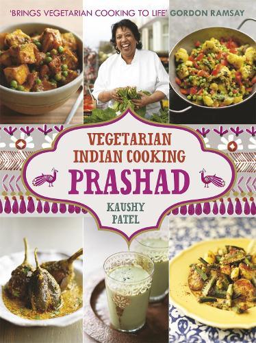 Prashad Cookbook: Indian Vegetarian Cooking (Hardback)