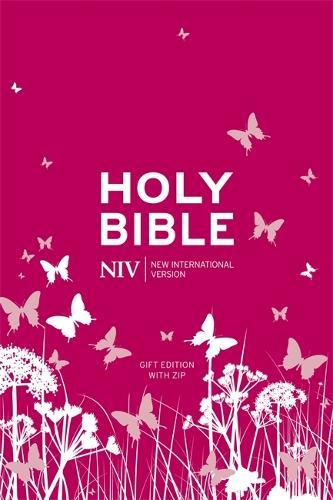NIV Tiny Pink Soft-Tone Bible with Zip - New International Version (Paperback)
