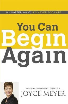 You Can Begin Again (Paperback)