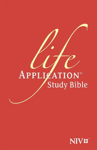 NIV Life Application Study Bible (Anglicised) - New International Version (Hardback)