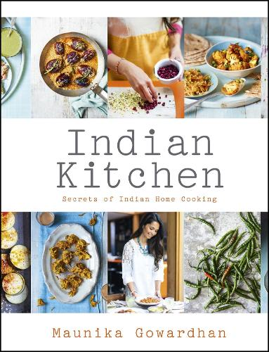 Indian Kitchen: Secrets of Indian home cooking (Hardback)
