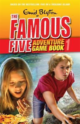 Search for Treasure - Famous Five Adventure Game Book No. 1 (Paperback)