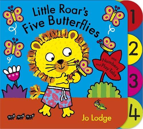 Little Roar's Five Butterflies Board Book - Little Roar (Board book)