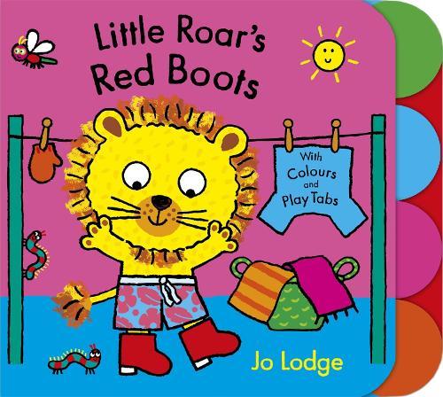 Little Roar's Red Boots Board Book - Little Roar (Board book)