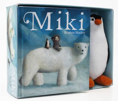 Miki Box Set (Book and Plush) (Paperback)
