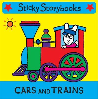 Cars and Trains - Sticky Storybooks 4 (Rag book)