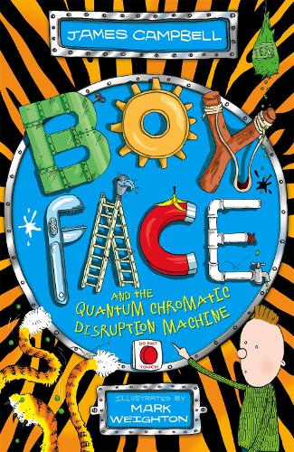 Boyface and the Quantum Chromatic Disruption Machine - Boyface (Paperback)
