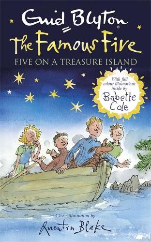 Famous Five: Five on a Treasure Island: Book 1 Full colour illustrated edition - Famous Five (Hardback)