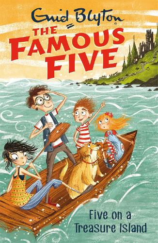 Famous Five: Five On A Treasure Island: Book 1 - Famous Five (Paperback)