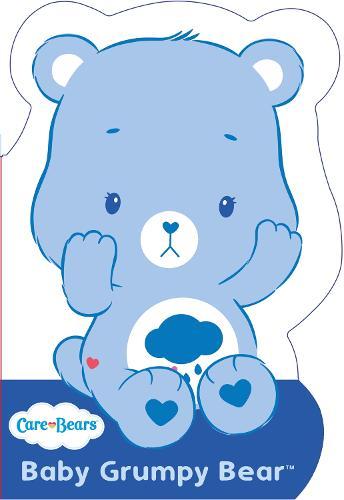 Care Bears: Baby Grumpy Bear: Shaped Board Book 2 - Care Bears (Board book)