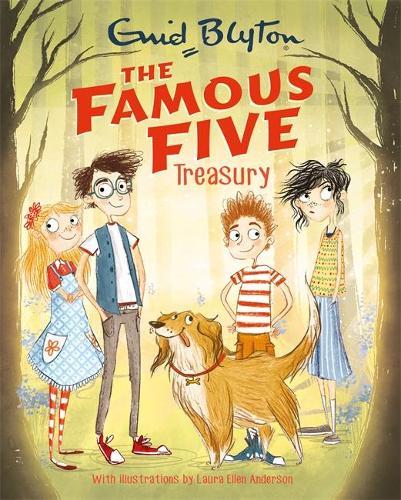 The Famous Five Treasury (Hardback)