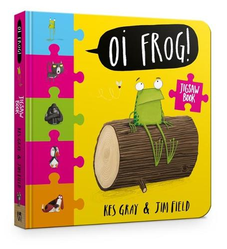 Oi Frog! Jigsaw Book - Oi Frog and Friends (Board book)