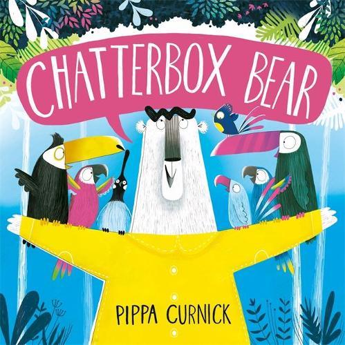 Chatterbox Bear (Hardback)