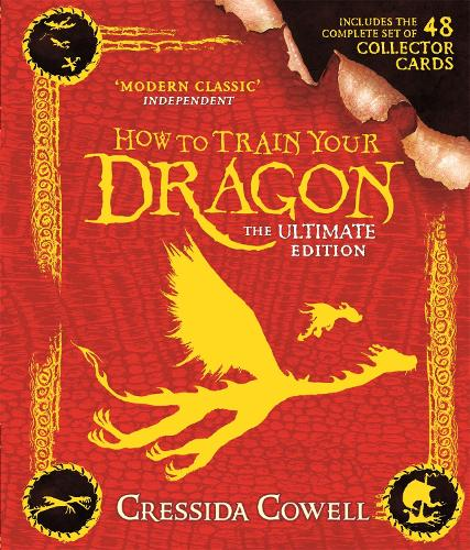 How to Train Your Dragon: The Ultimate Collector Card Edition: Book 1 - How to Train Your Dragon (Hardback)