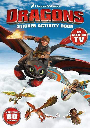 Dragons: Sticker Activity Book - Dragons (Paperback)