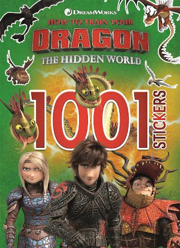 How to Train Your Dragon The Hidden World: 1001 Stickers - How to Train Your Dragon (Paperback)