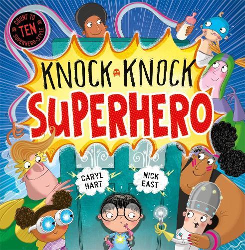Knock Knock Superhero - Knock Knock (Hardback)